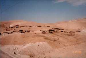 A Bedouin willage
