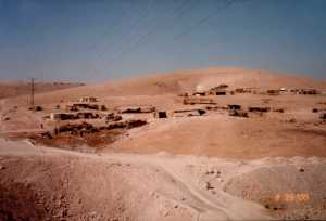 Another Bedouin village.
