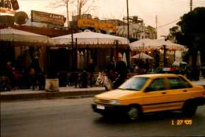 Streets of Damascus
