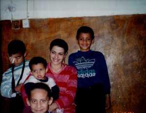 Amira and boys