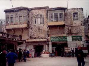A beautiful street in Nablus